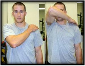 Shoulder mobility clearing test (FMS)