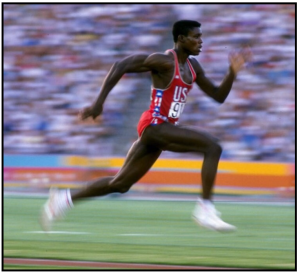 Once upon a time… Carl Lewis knew that